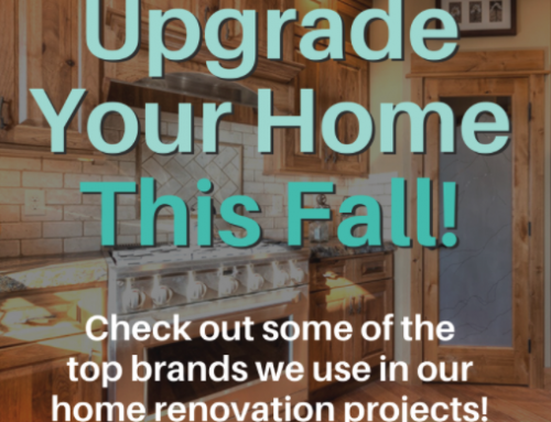 Fall Upgrades For Your Home!